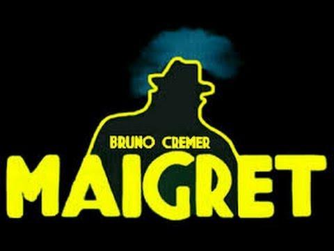 ''MAIGRET et LA VIEILLE DAME'' film avec Bruno Crémer