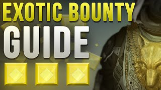 "Destiny: Exotic Bounty Guide ""A Light In The Darkness"" THORN!"
