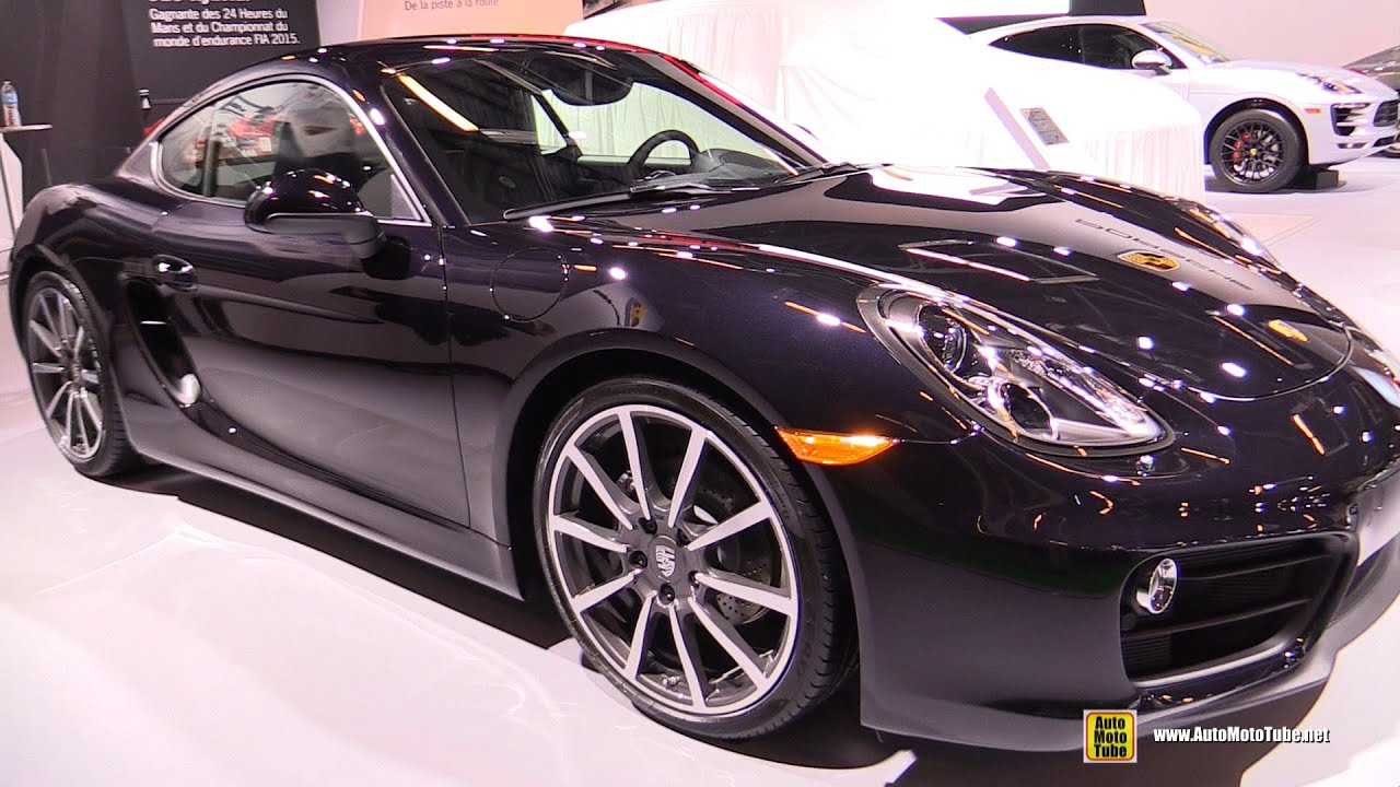 2016 porsche cayman black edition exterior and interior. Black Bedroom Furniture Sets. Home Design Ideas