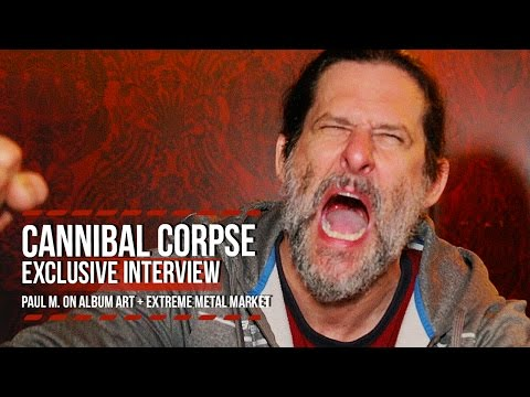 Cannibal Corpse's Paul Mazurkiewicz on Brutal Album Art + Extreme Metal Market