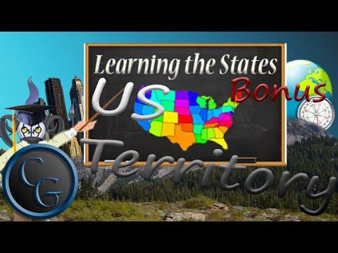 Learning the States Bonus ~ US Territory!