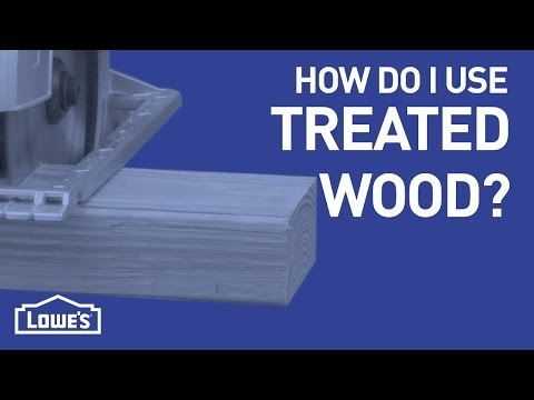 What's Up With Treated Wood? | DIY Basics