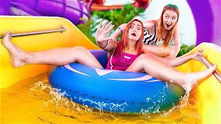 Types of People in Waterpark! Funny Situations