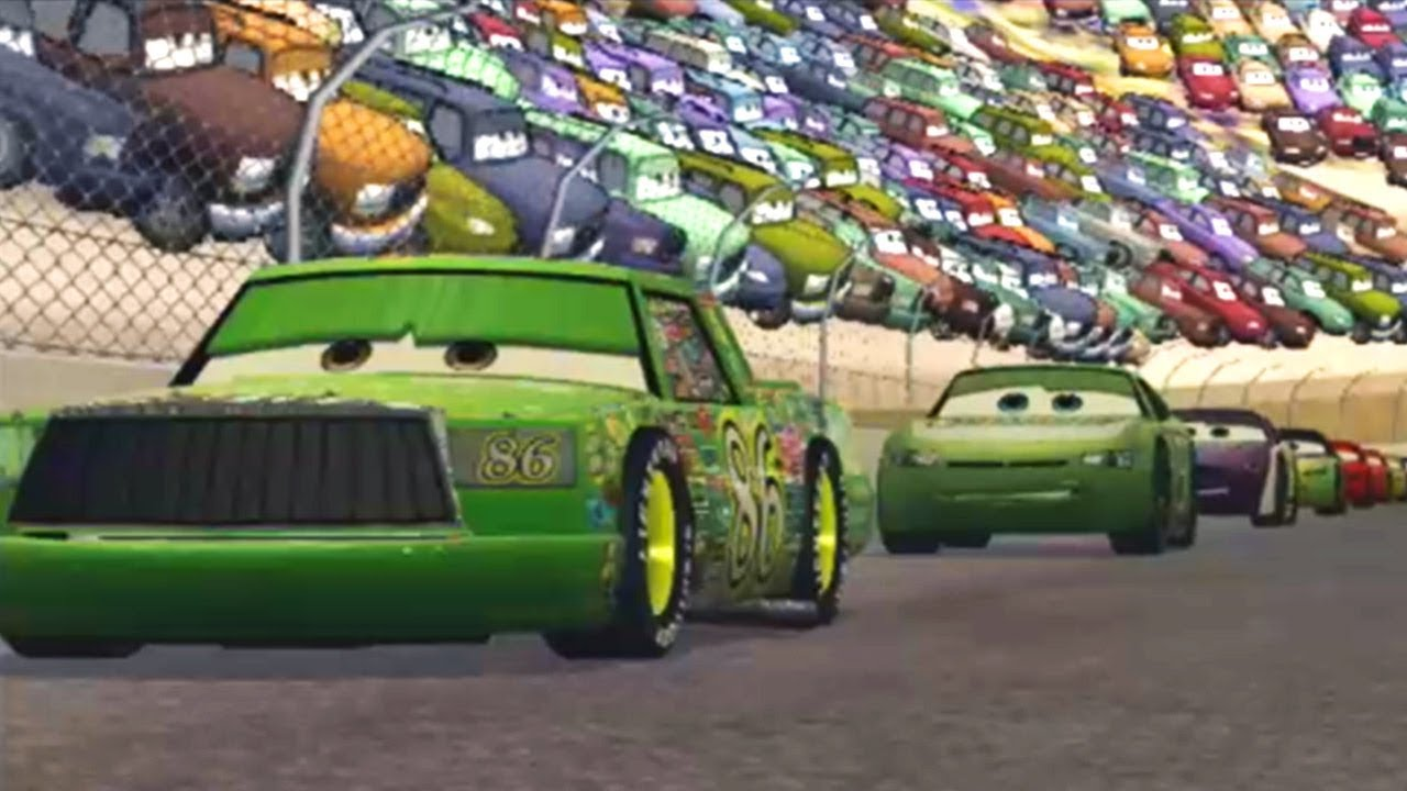 Cars 1 The Videogame 360 Lightning Mcqueen S3 Vs All 5 Piston Cup
