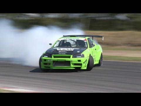 Drifting NM Våler 2014 NM R1 - Motorsportfilmer.net