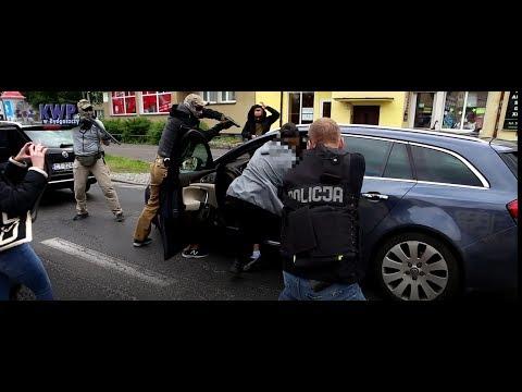 Policjanci w akcji. Zatrzymanie na Szosie Chełmińskiej!