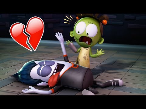 Funny Animated Cartoon | Spookiz Zizi and Culas Heart Attack of Love | Cartoon for Children