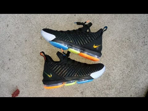 newest aa4a9 85f31 LEBRON JAMES'S NIKE LEBRON 16