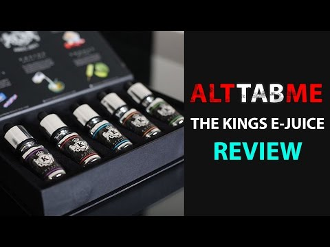The Kings E-Juice Blind Taste Test Review!