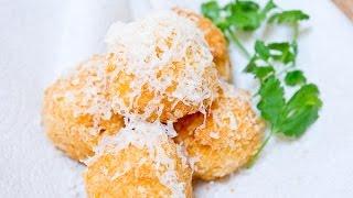 Сыр во фритюре. Простой рецепт приготовления. Cheese fried.