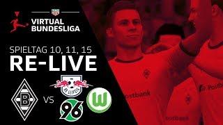 Borussia M'gladbach vs. RB Leipzig, Hannover 96, VfL Wolfsburg - VBL Club Championship 2019