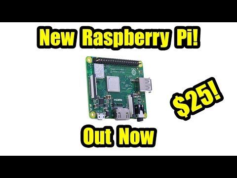 Here's the new $25 Raspberry Pi 3 Model A+
