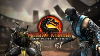 Xbox 360 Longplay [115] Mortal Kombat (2011) (part 1 of 5)