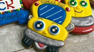 BACK TO SCHOOL:  a SCHOOL BUS COOKIE by TaleCookies