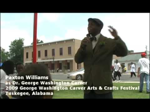 paxton williams as george w carver 3 youtube