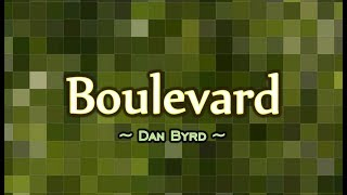 Boulevard - Dan Byrd (KARAOKE VERSION)