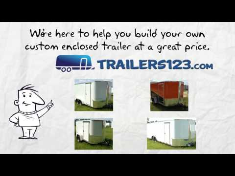 Memphis Enclosed Trailers for Sale Near Me - See Memphis Enclosed Trailers Here!