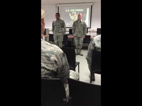 Air Force NCO Charge - YouTube
