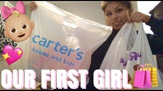 BABY GIRL CLOTHING HAUL! | CARTERS & BABIES R US