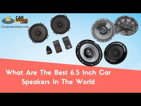 【CRAZY】Best 6.5 Speakers For Bass » Best 6 5 Car Speakers In The World
