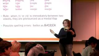 Educ 151. Lec 04. Language and Literacy: Understanding English Phonology