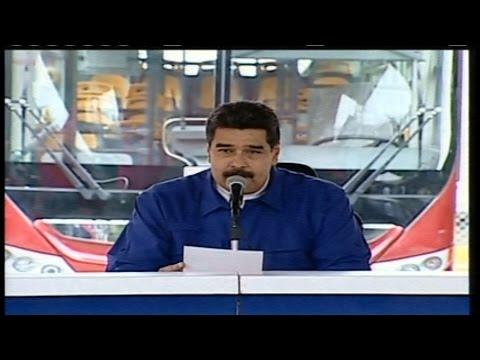 Maduro llega al Poliedro de Caracas para activar rutas y entregar créditos de la Misión transporte