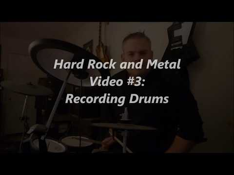 How to Record Drums / EZDrummer and Roland - PreSonus Studio One - Hard Rock and Metal