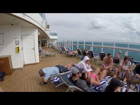 Regal Princess cruise ship video tour January 2018