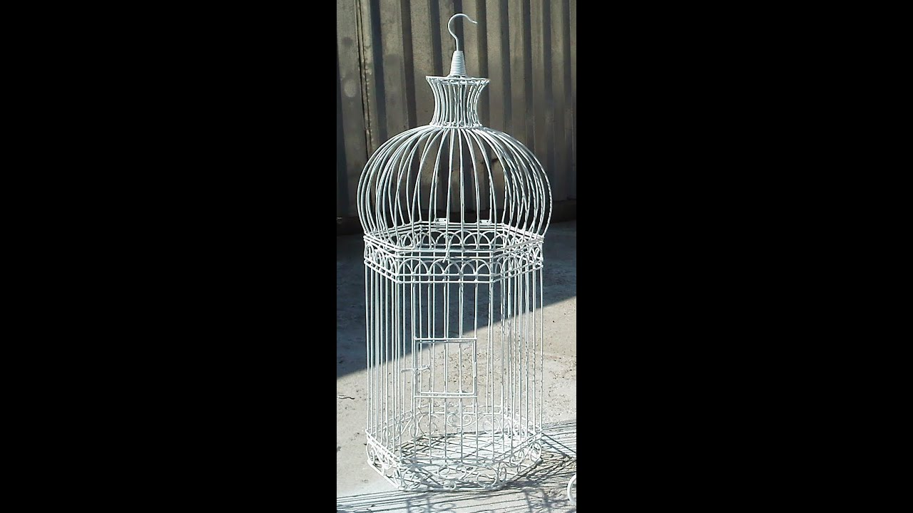 how to draw a bird cage