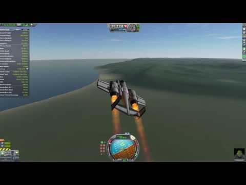 KSP: New Small Tilt-Engine VTOL