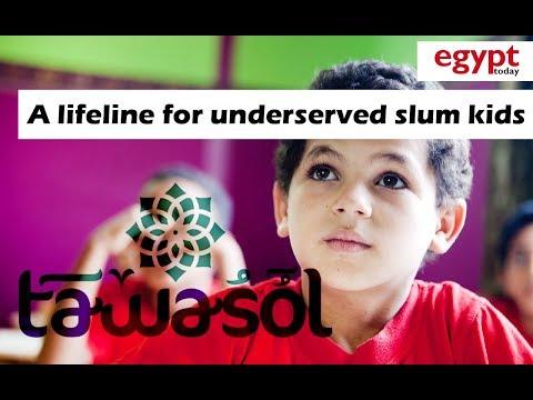 Tawasol: A lifeline for Egypt's underserved slum kids