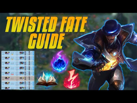 TWISTED FATE - How To Climb Step By Step - My Challenger Guide (Very Detailed)