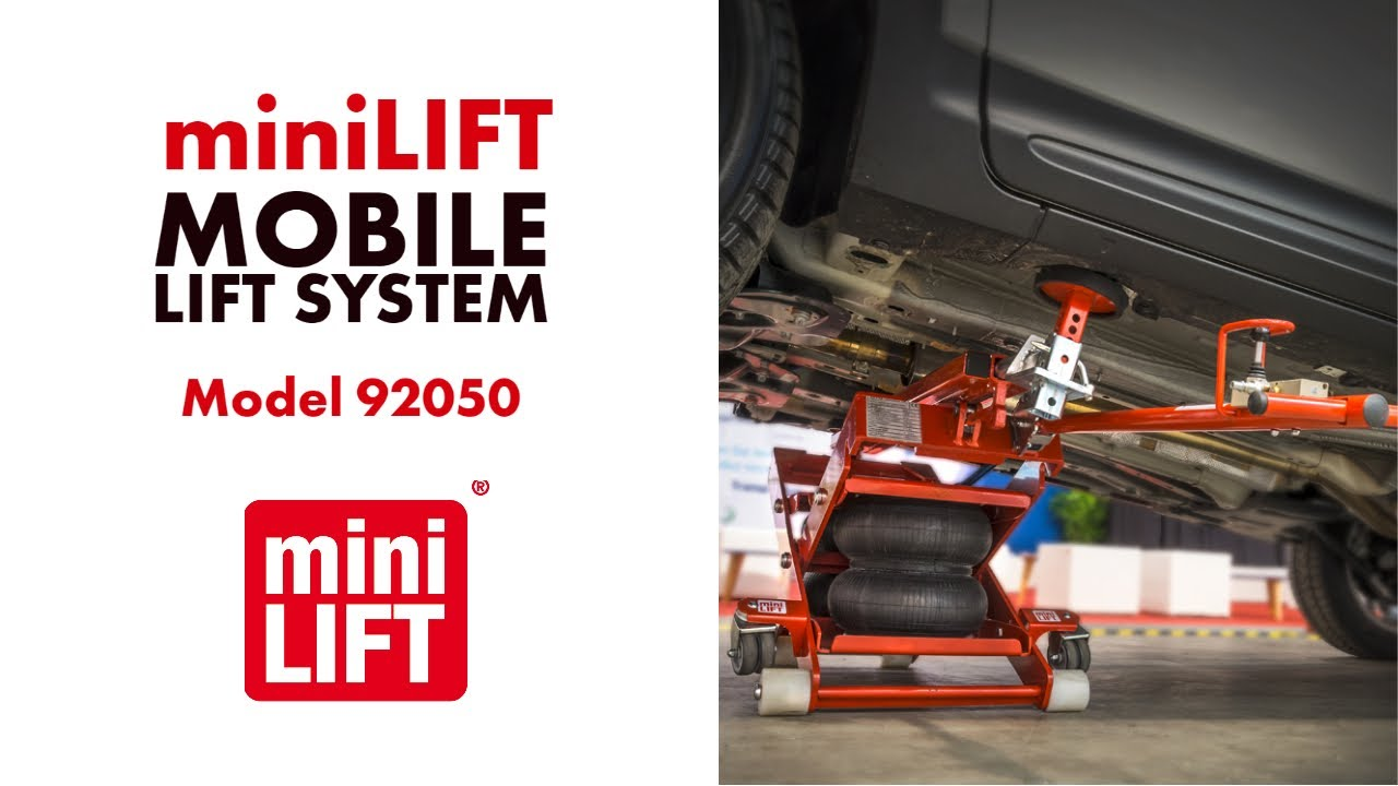 Esco Minilift Mobile Lift System Model 92050 Youtube