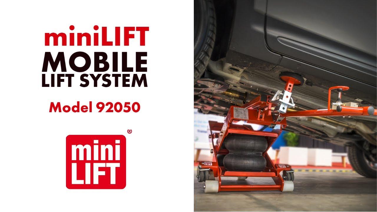 ESCO miniLIFT Mobile Lift System Model 92050  YouTube