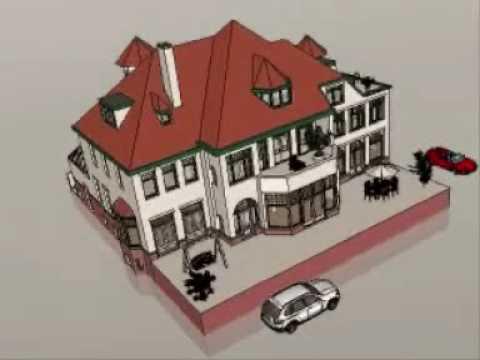 Digihouze uw 3d huis youtube for Huis ontwerpen 3d