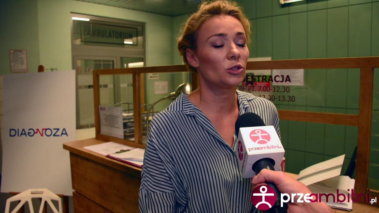 """""""Nie pleść farmazonów"""" – Sonia Bohosiewicz przygotowywała się specjalnie do serialu """"Diagnoza"""""""