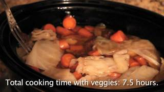 How-to Cooking Video: Easiest Gluten-free Pot Roast/brisket Ever!