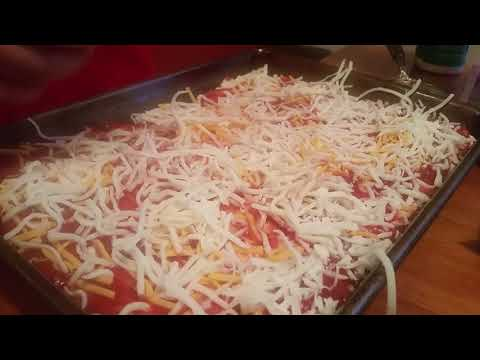 Loaded Meat Lovers Extra Cheese Pizza