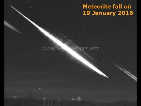 Meteorite fall (19 January 2016)