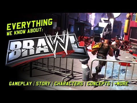 WWE Brawl: Everything We Know About The WWE's Cancelled Videogame