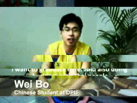 DPU Times -Chinese Student Life in Thailand