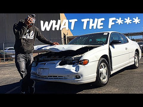 Chevy Monte Carlo SS Crashed N Wrecked