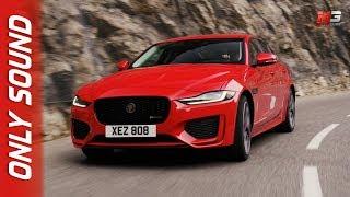 New jaguar xe 2019 - first test drive only sound