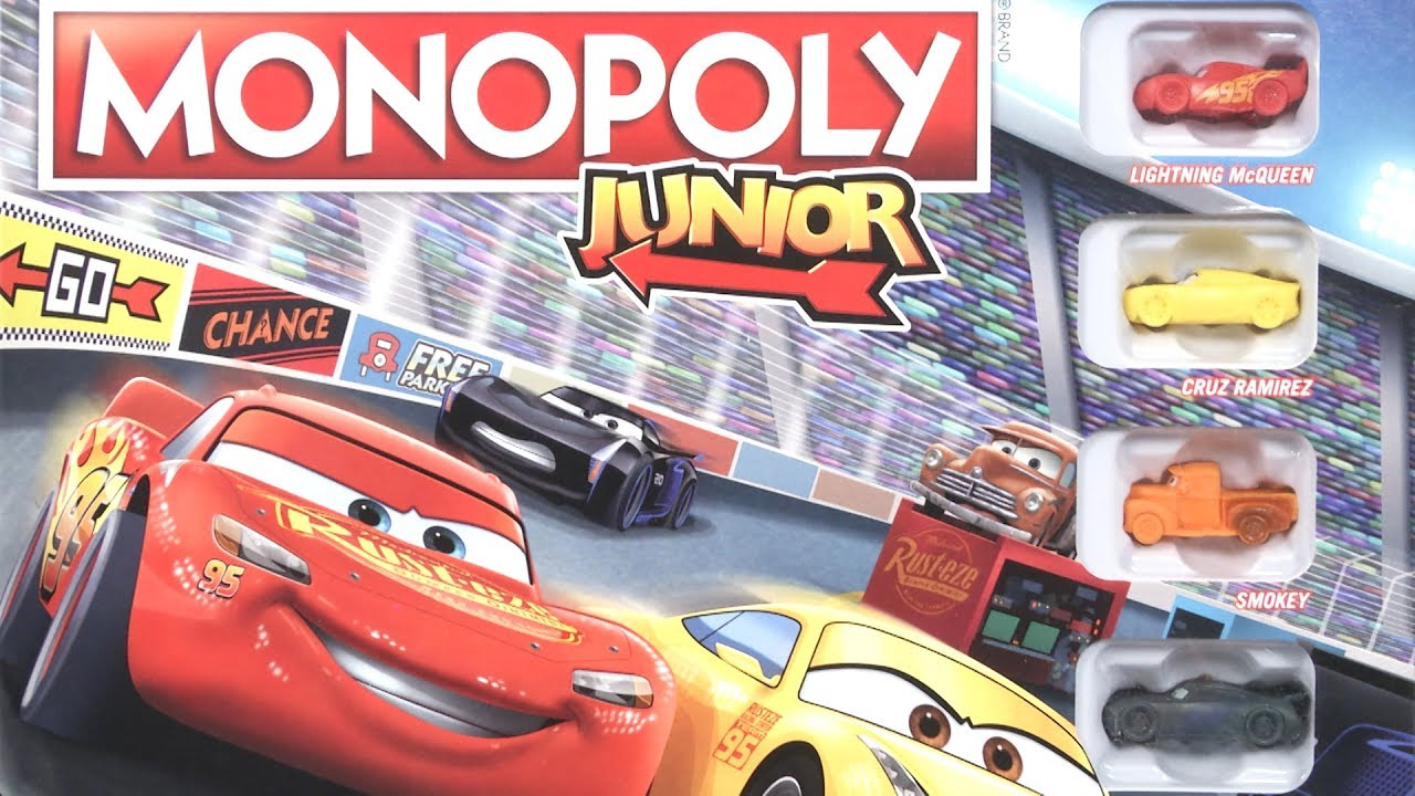 Monopoly Junior Cars Edition from Hasbro