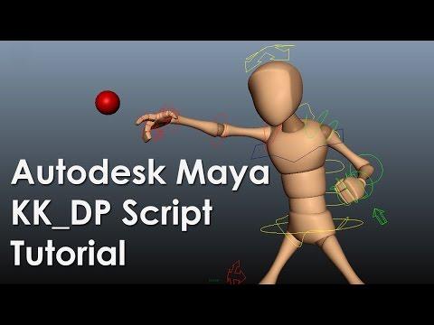 Useful Autodesk Maya KK_DP Script Tutorial