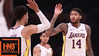 Los Angeles Lakers vs New York Knicks 1st Half Highlights / Jan 21 / 2017-18 NBA Season