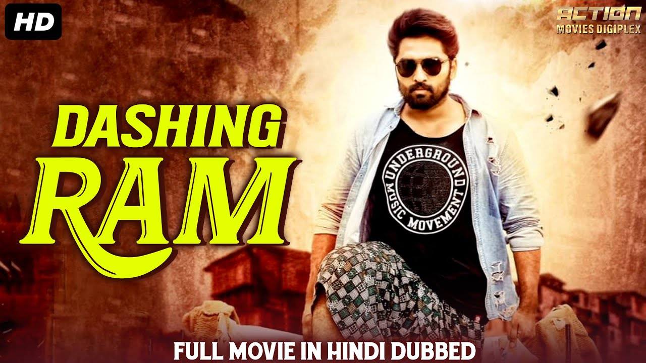 DASHING RAM Hindi Dubbed Full Action Romantic Movie | South Indian Movies Dubbed In Hindi Full Movie