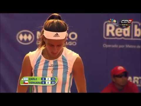 María Lourdes CARLÉ vs Sofia VERGARA chile 2017