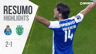Highlights | Resumo: FC Porto 2-1 Sporting (Liga 17/18 #25)