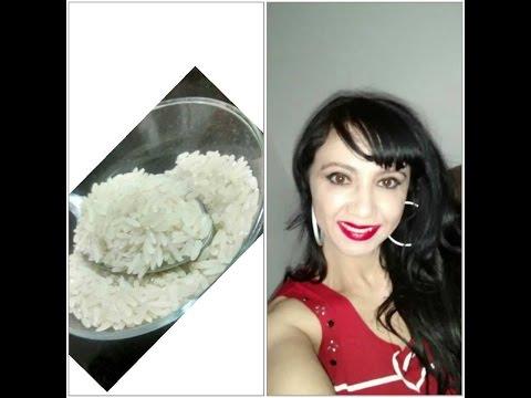 Água de arroz para eliminar espinhas clarear manchas prevenir rugas incrivel
